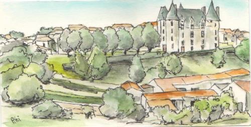 vue du château 4 (10 X 19.5 cm)