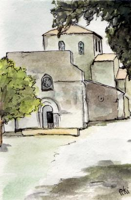 Eglise neuvicq carte postale