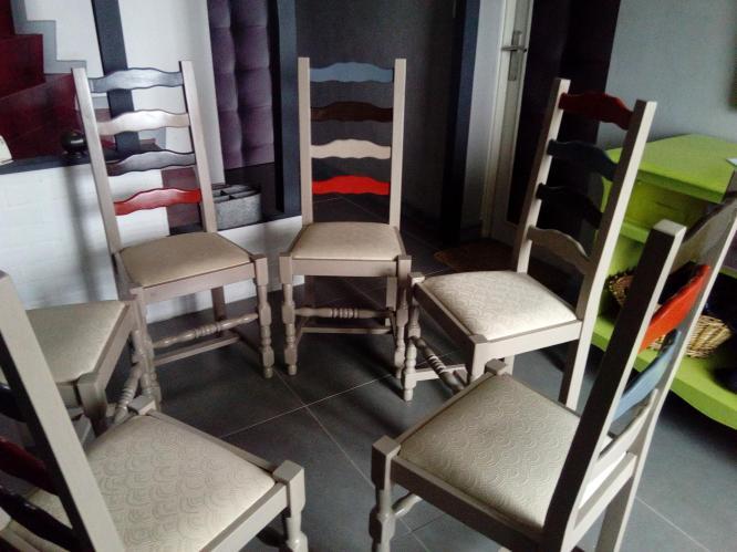 chaises toutes différentes