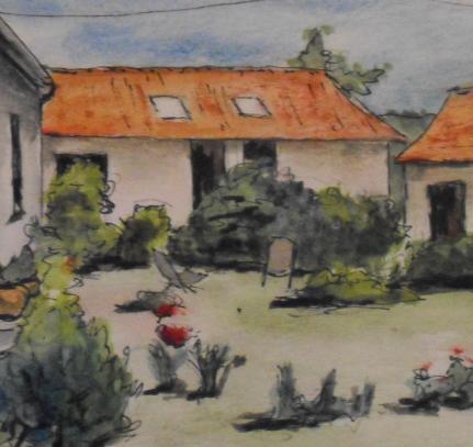 Jardin charlotte détail