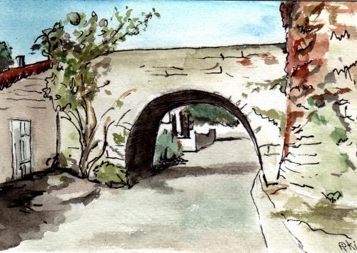 Pont levis neuvicq