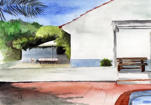 maison à Porto Covo (26X18 cm)