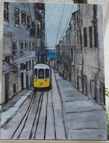 tramway (75X0 cm)