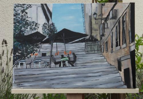 terrasse (65X40cm)