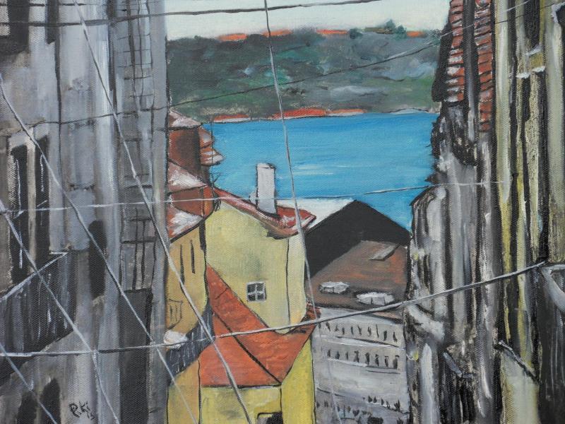 Lisbonne (50X50 cm)