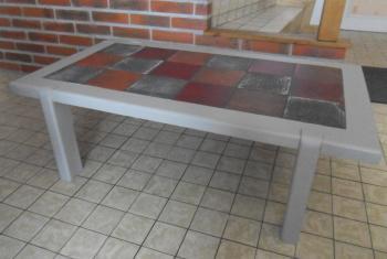 table de salon customisée