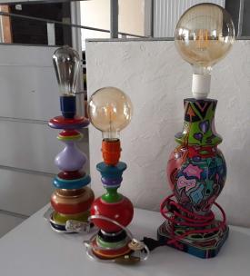 Serie de lampes