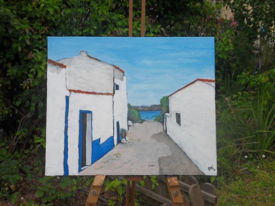 Villa nova de Milfontes 38X46 cm